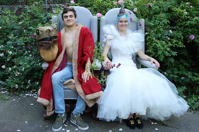 The Baseball Toad and Princess Diamond, 11 years after they were photographed for the book.