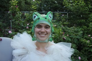 Princess Diamond in Frog Cap