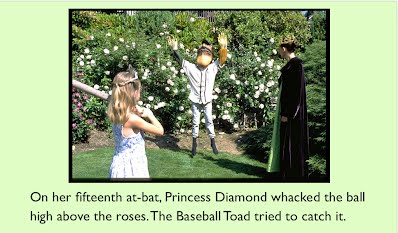 Princess Diamond baseball home run